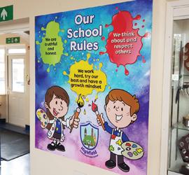 Displays to brighten up your School