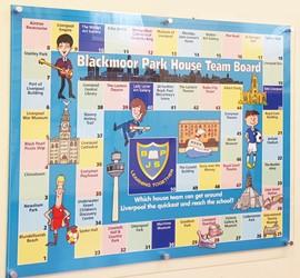 House Team Displays