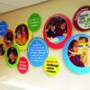 School welcome display